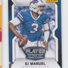 EJ Manuel Player of the Day RC 2014 Panini #12 Bills