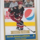Oliver Ekman-Larsson Gold Parallel RC 2011-12 Score Rookies Traded #639 Coyotes