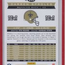 Darren Sproles Gold Parallel SP 2013 Score #133 08/50 Saints