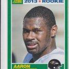 Aaron Mellette Rookie Card 2013 Score #332 Ravens