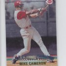 Mike Cameron Baseball Trading Card 1999 Topps Stadium Club #323 Reds