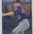 Todd Stottlemyre Baseball Card Transaction 1999 Topps Chrome #327 Diamondbacks