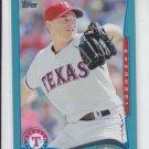 Jason Frasor Wal-Mart Blue Parallel 2014 #147 Rangers
