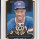 Darryl Strawberry 50 Years Draft Insert 2014 Topps Series 1 #50YD9 Mets