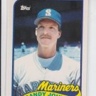 Randy Johnson Rookie Card 1989 Topps Traded RC #57T Expos Sharp!