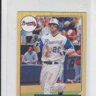 Dan Uggla 1987 Mini Insert 2012 Topps #TM-24 Braves