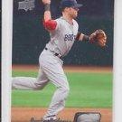 Dustin Pedroia Baseball Card 2010 Upper Deck #91 Red Sox