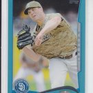 Clayton Richard Wal-Mart Blue Parallel 2014 #186 Padres