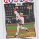 Clay Buchholz Rookie Card 2008 Topps Series 1 #232 Red Sox *ABC