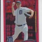 Max Scherzer Red Hot Foil 2014 Topps Series 1 #297 Tigers