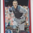 Nick Hundley Target Red Parallel 2014 #37 Padres