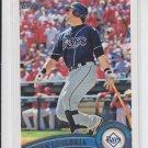 Evan Longoria Baseball Card 2011 Topps #340 Rays