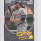 Kevin Youkilis Black Parallel 2008 Upper Deck Heroes #25 Red Sox Yankees