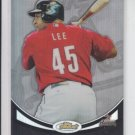 Carlos Lee Refractors 2010 Topps Finest #55 Astros 305/599
