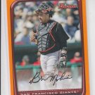 Bengie Molina Orange Parallel 2008 Bowman #17 Giants 245/250