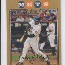 Carlos Delgado Gold Parallel 2008 Topps #305 Mets 0933/2008