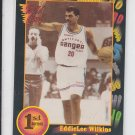 EddieLee Wilkins Basketball Trading Card 1991-92 Wild Card #67 NM *BOB