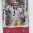 Chad Henne Rookie Card Red Parallel 2008 Playoff Prestige #114 043/100 Jaguars