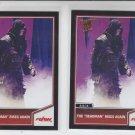 "Undertaker The ""DeadMan"" Rises Silver  & Bronze Lot 2 2013 Topps Best of WWE #94"