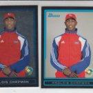 Aroldis Chapman World Baseball Classic WBC 2009 Bowman Chrome Draft & Base Lot