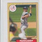 Mariano Rivera 1987 Mini 2012 Topps #TM36 Yankees