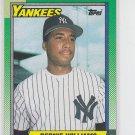 Bernie Williams Rookie Card 1990 Topps #701 Yankees