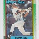 Sammy Sosa Rookie Card 1990 Topps #692 White Sox *ABC