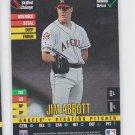 Jim Abbott Baseball Trading Card 1995 Donruss Top of the Order Angels