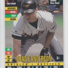 Brady Anderson Baseball Trading Card 1995 Donruss Top of the Order Orioles