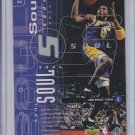 Kobe Bryant & Shaquille O'Neal Heart & Soul 1998-99 Upper Deck #80 Lakers