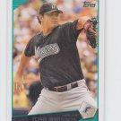 Josh Johnson Baseball Card 2009 Topps Series 1 #118 Marlins