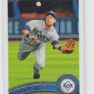 Ben Zobrist Baseball Card 2011 Topps Series 1 #27 Rays