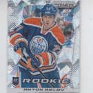 Anton Belov Spring Expo Cracked Ice RC 2013-14 Panini Prizm Update #344 Oilers