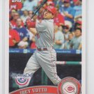 Joey Votto Baseball Card 2011 Topps Opening Day #10 Reds