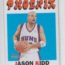 Jason Kidd Basketball Card 2000-01 Topps Heritage #1 Suns