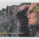 Klingon Knife Die Cut Chase Insert 1995 Skybox 30th Anniversary Edition #D1 *ED