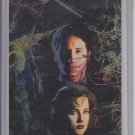 Crescit Eundo Etched Foil 1995 The X-Files #I5 Trading Card Artis Miran Kim