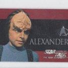 Alexander 1996 Skybox Next Generation #S35 Trading Card *ED