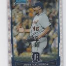 Jose Valverde XFractor  2012 Bowman Chrome #182 Tigers Sharp!