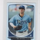 Wil Myers Cream of the Crop Mini 2013 Bowman Chrome #CC-TBR1 Rays