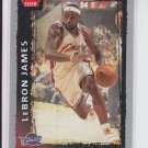 Lebron James Basketball Card 2008-09 Fleer #23 Cavaliers Heat