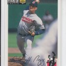 Charles Nagy Silver Signature 1994 Collector's Choice #578 Indians