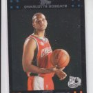 Jared Dudley Rookie Card 2007-08 Topps Basketball Card #132 Bobcats Clippers