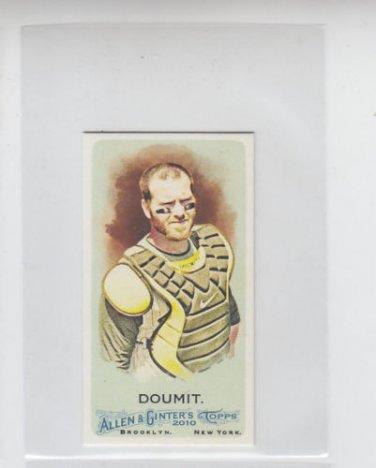 Ryan Doumit Mini Parallel SP 2010 Topps Allen & Ginter #313 Pirates
