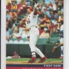 Mark McGwire Baseball Card 2001 Topps Post Cereal #6 of 18 Cardinals
