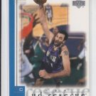 Vlade Divac Basketball Card 2001-02 Upper Deck Reserve #72 Kings