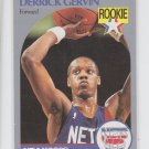 Derrick Gervin Rookie Card 1990-91 Hoops #196 Nets *BOB