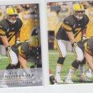Ben Roethlisberger Football Trading card lot of (2) 2008 Upper Deck Steelers