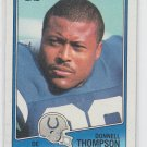Donnell Thompson Football Trading Card 1988 Topps #126 Colts NMT