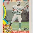 Mark Clayton 1000 Yard Club HL 1989 Topps #12 Dolphins